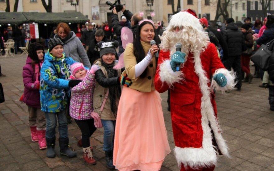 Kaune atidarytas Kalėdų miestelis