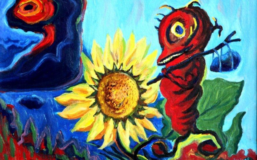 """Valentinas Sikšnys, """"Keliauninkai"""", 2004"""