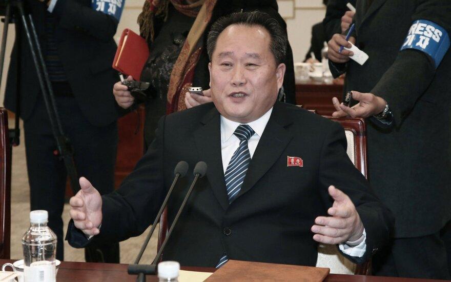 Šiaurės Korėja ketina siųsti savo delegaciją į Pjongčango žiemos olimpines žaidynes