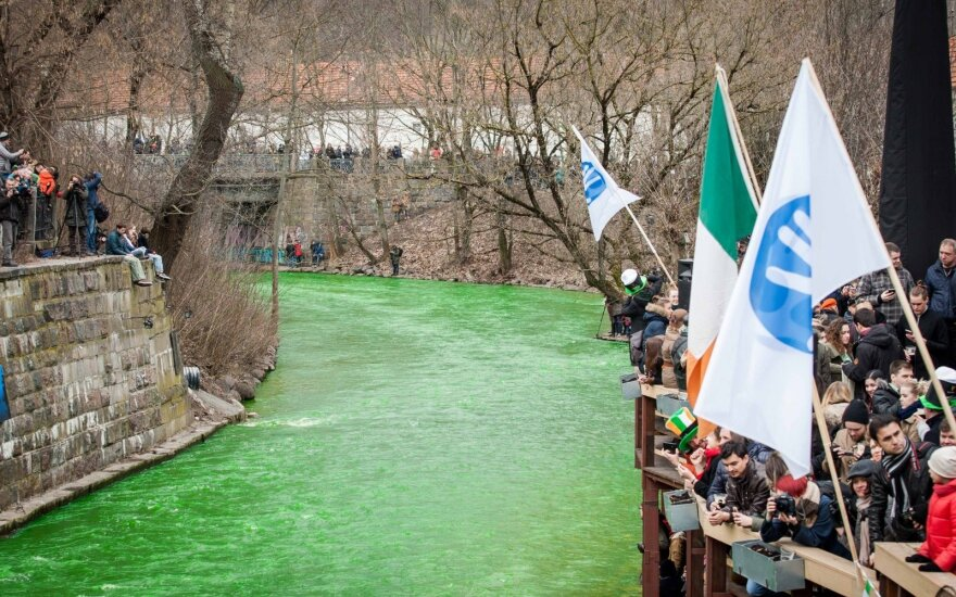 St Patrick's celebration in Vilnius