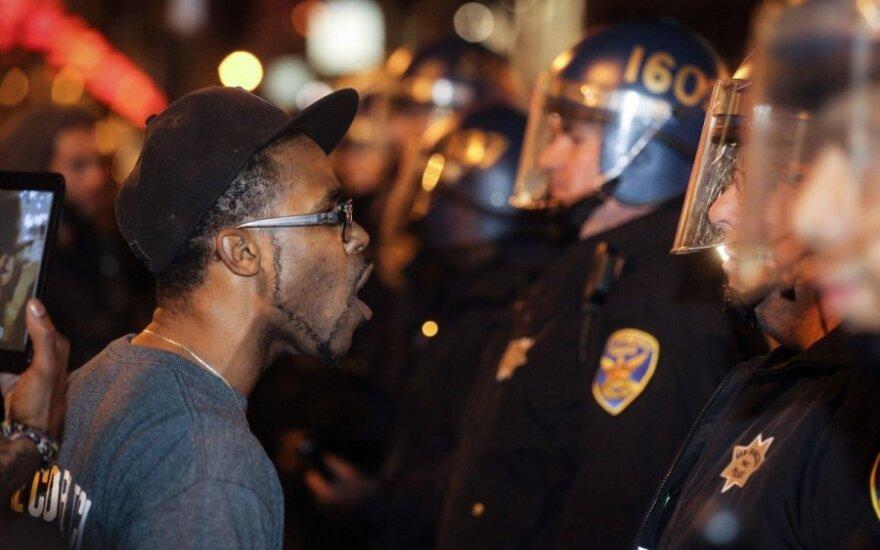 JAV policija nušovė juodaodį paauglį
