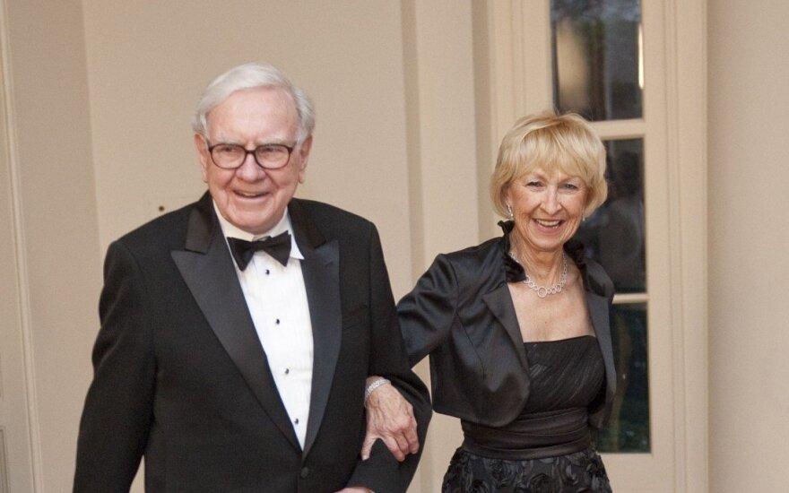W. Buffetas pardavė apie trečdalį IBM akcijų