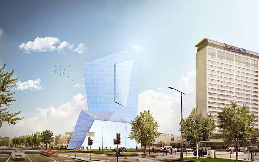 Libeskind's design for Vilnius centrepiece draws criticism, praise from Lithuanian architects