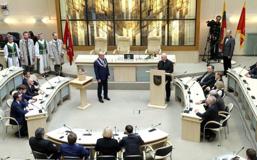 V. Matijošaitis Kaune užsimojo
