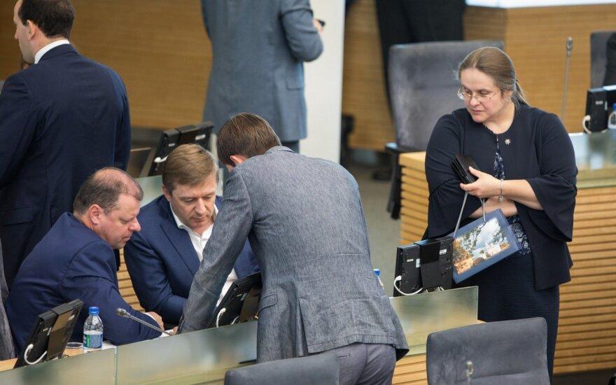 Nebyli dauguma Seime pritarė progresiniams mokesčiams