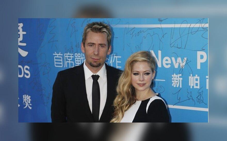 Avril Lavigne ir Chad Kroeger