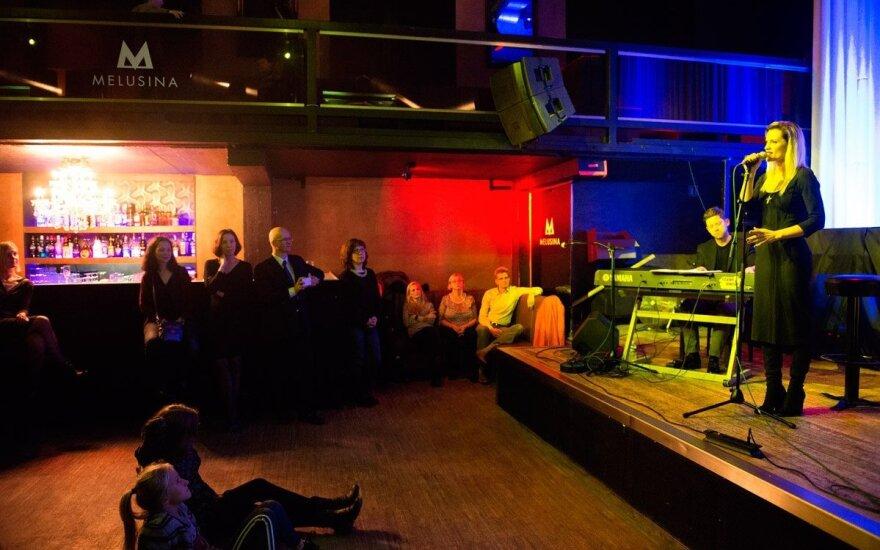 Jurga Šeduikytė performs. Photo Ramūnas Astrauskas