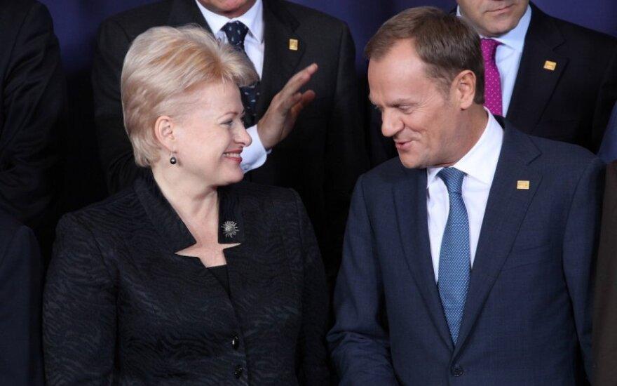 Dalia Grybauskaitė, Donald Tusk
