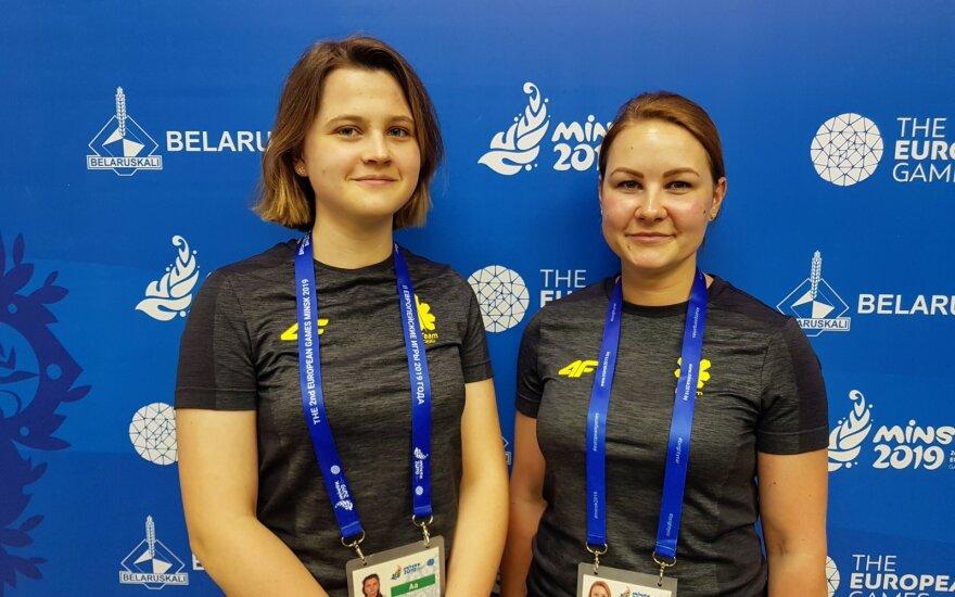 Gabrielė Rankelytė ir Jekaterina Ždanova