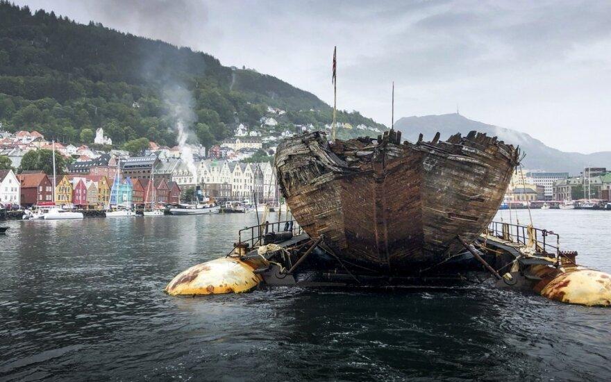 Legendinis laivas po 100 metų pagaliau grįžo namo