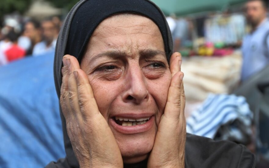 Moteris Sirijoje