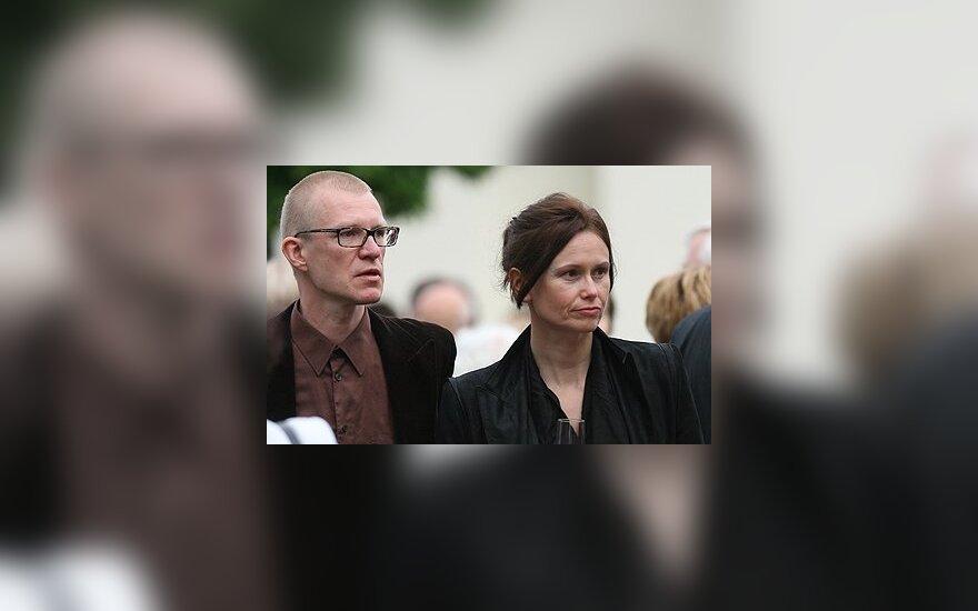 OKT direktorius Martynas Budraitis su žmona Jūrate Paulėkaitė