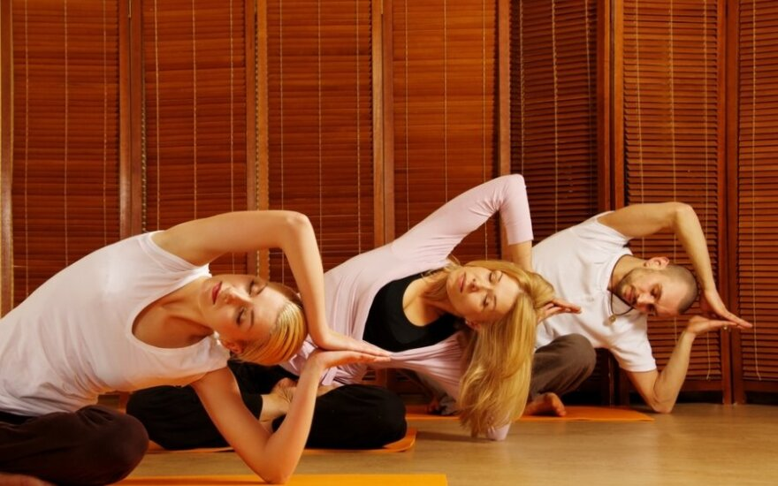 Sportinė joga - nuo įtampos ir nuovargio