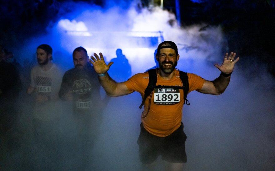"""""""Insane Run"""" bėgimas"""