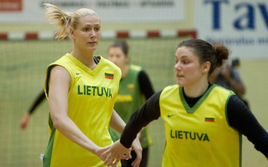 Eglė Šulčiūtė ir Sandra Linkevičienė
