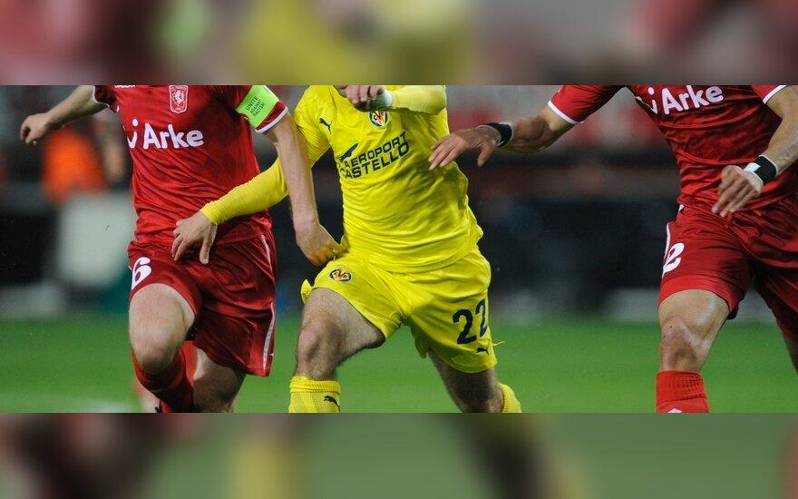 """Veržiasi Giuseppe Rossi (""""Villarreal"""")"""