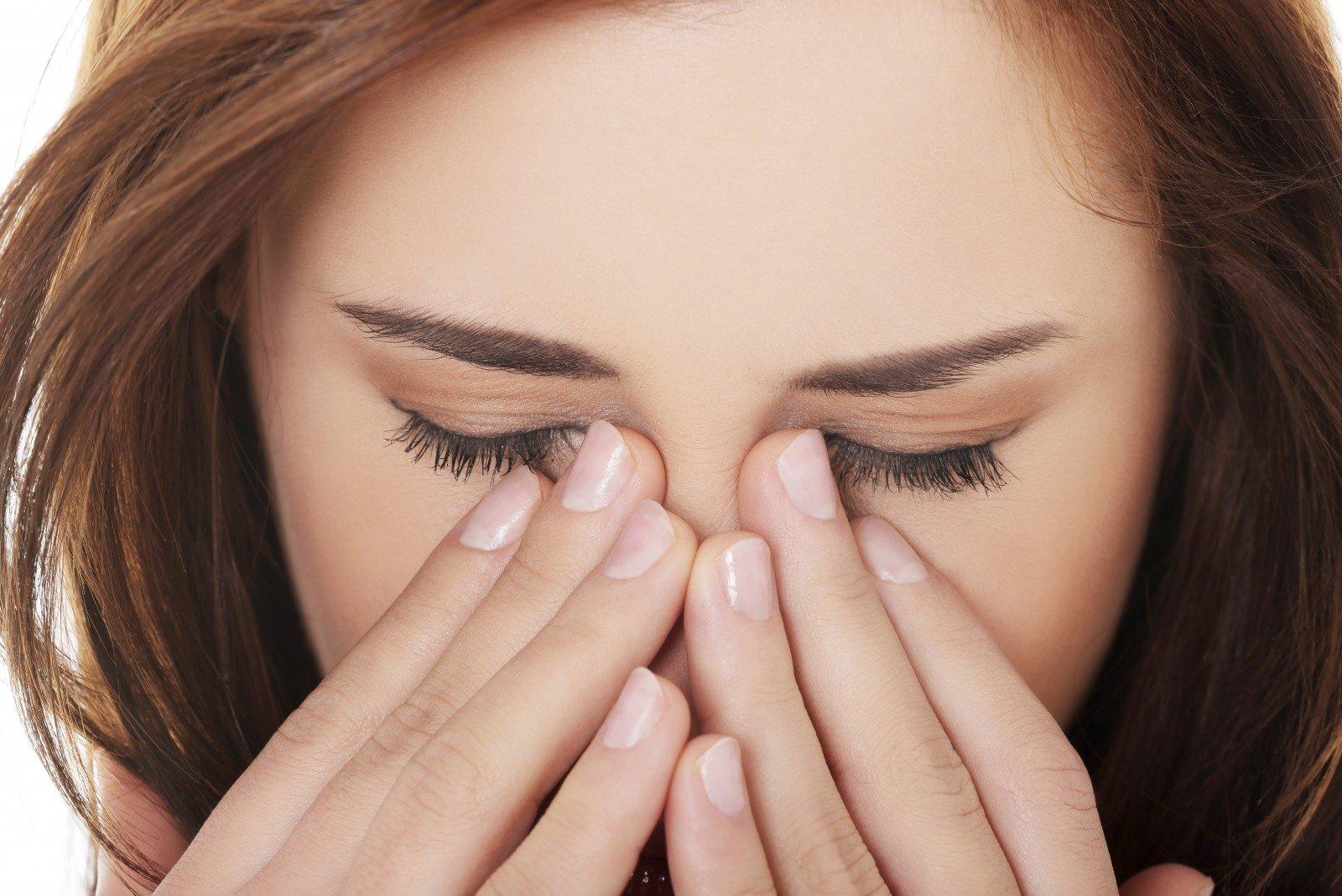 veidas parausta su hipertenzija