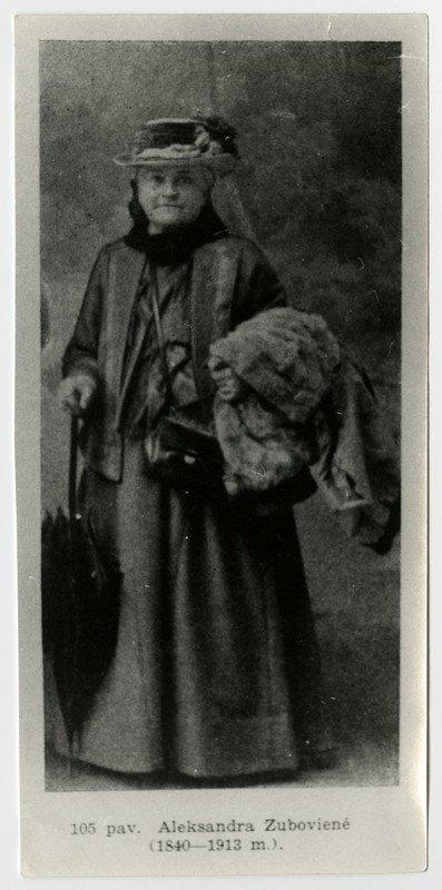 Aleksandra Olsufjevaitė-Zubovienė