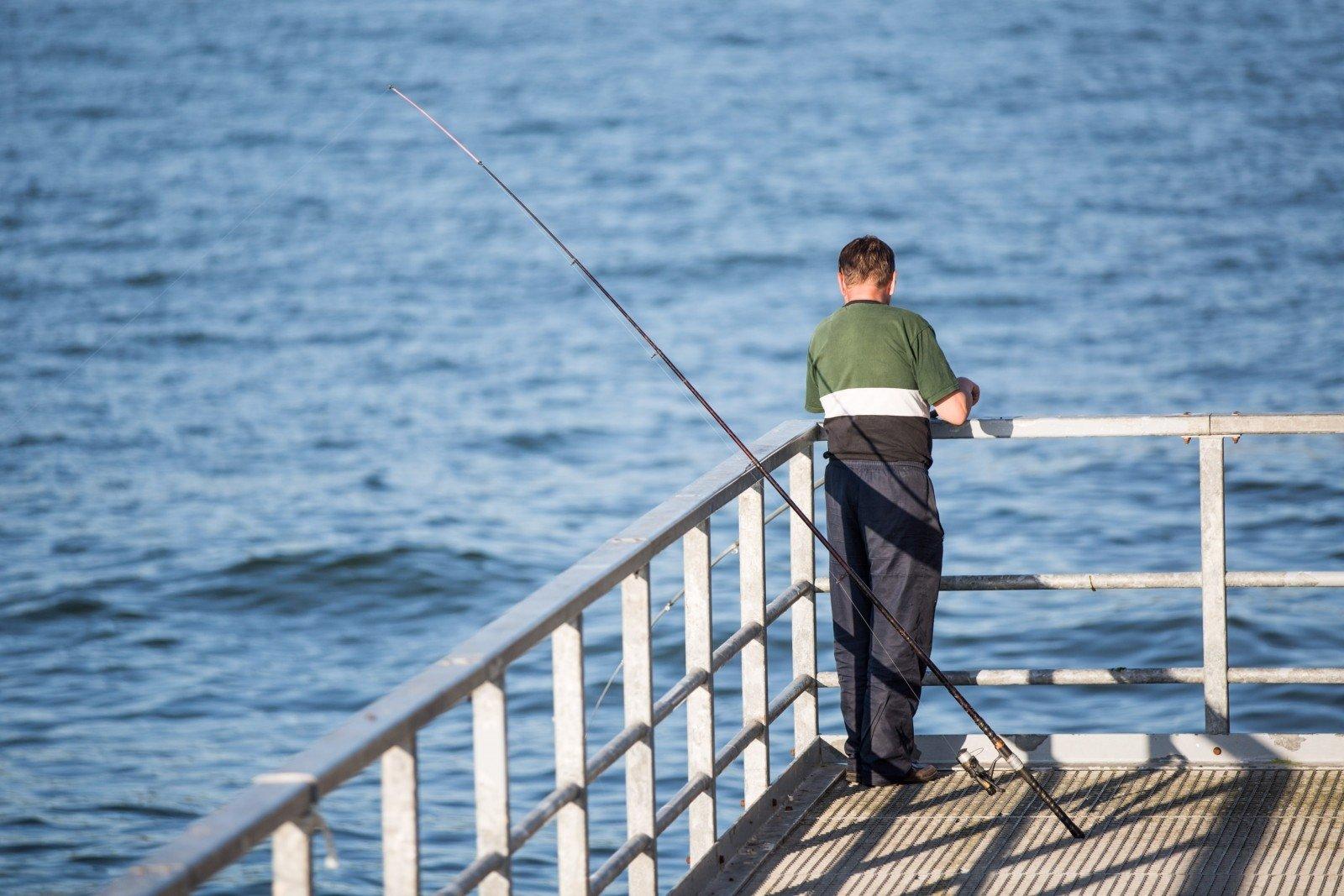 Kur galima žvejoti su žvejo bilietu