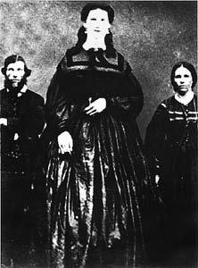 Anna Haining Swan su savo tėvais