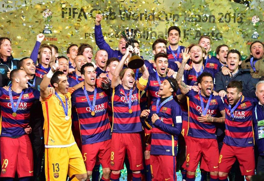 Auto Karta Barcelona.Barcelona Rekordinį Karta Tapo Fifa Klubų Pasaulio Cempione Delfi