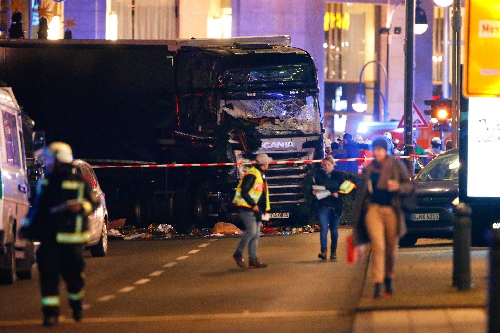 Фургон года. Система торможения Scania спасла людей натеракте вБерлине