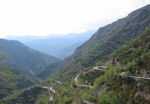 Col de Turini kelias