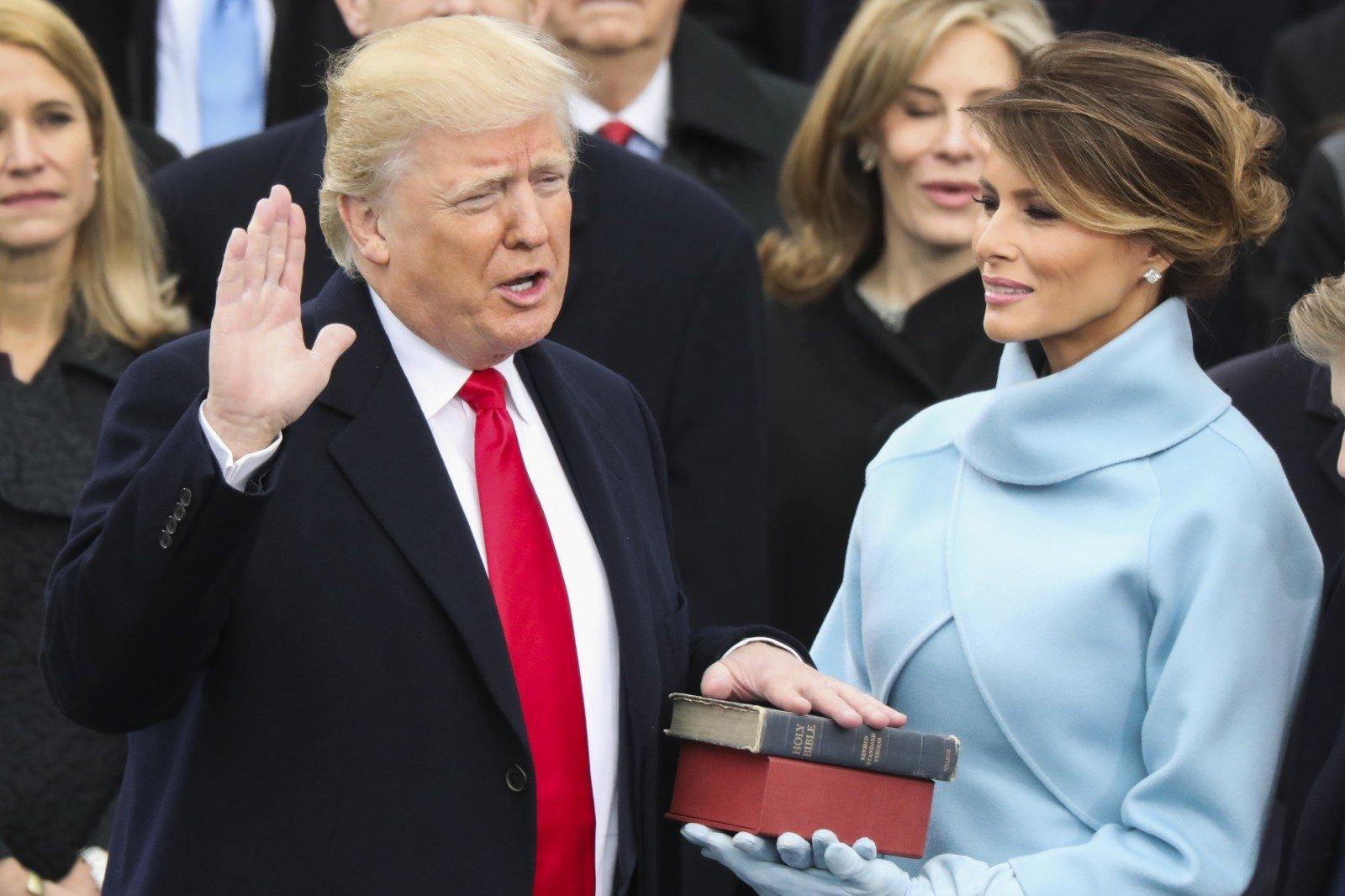 Трамп выступил сречью перед рабочими ЦРУ