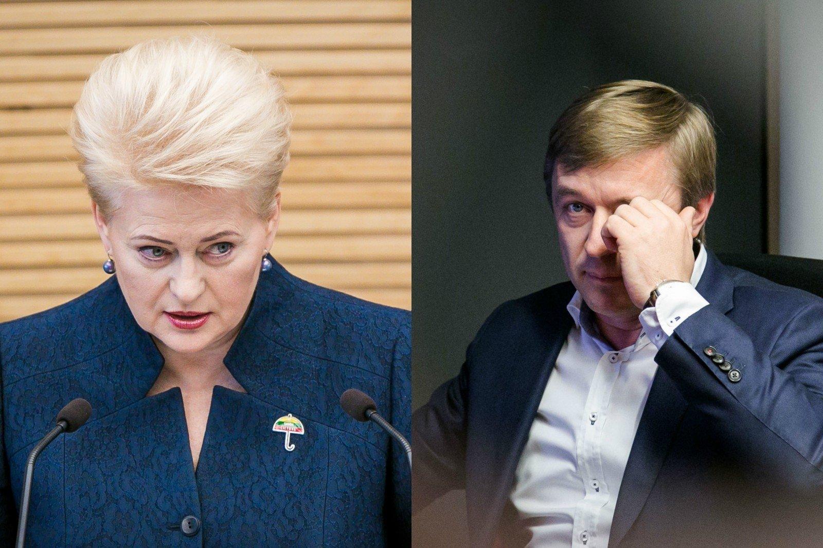 Парламент Литвы: Грибаускайте должна объяснить скандальную переписку