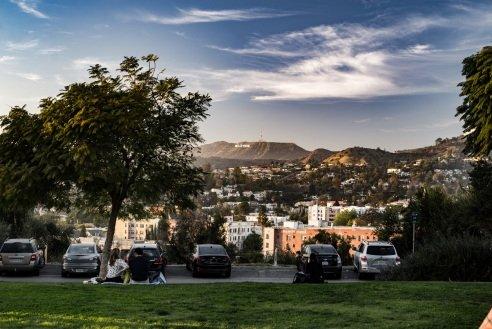 Didžiąją Los Andželo dalį sudaro individualių namų rajonai, kuriuos skrodžia dideli bulvarai ir vienakrypčiai šešių ar net aštuonių juostų greitkeliai