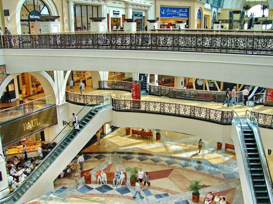 Dubai Mall - Didžiausias prekybos centras