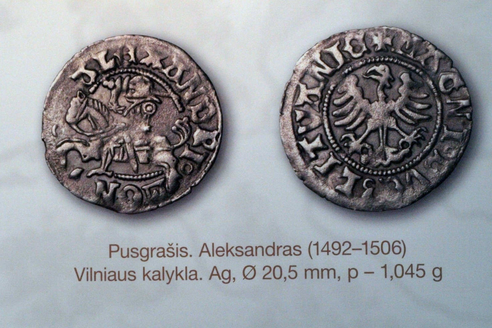 Symbols On Grand Duchy Of Lithuania Coins The Religion The Ruler