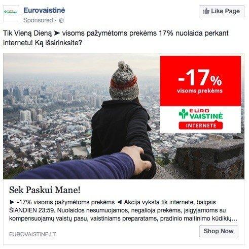 """""""Eurovaistinės"""" reklama – tarptautinio projekto kopija?"""