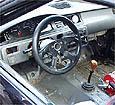 Lenktyninio automobilio kabina