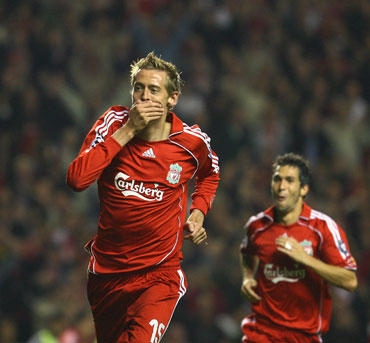"Peter Crouch (""Liverpool"")"
