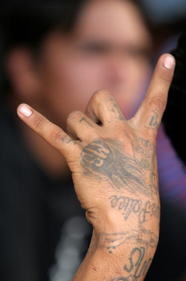 Tatuiruotė, ranka