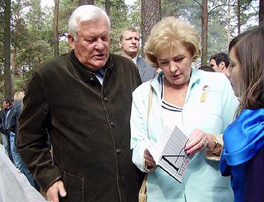 Algirdas ir Kristina Brazauskai