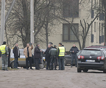 Krokuvos gatvėje suimtas susisprogdinti grasinęs vyras