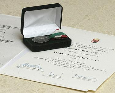 1956 metų Vengrijos revoliucijos atminimo apdovanojimas