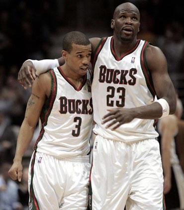 """Lynnas Greeras ir Rubenas Pattersonas (""""Bucks"""")"""