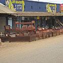 Ugandos gatvėje parduodamos lovos