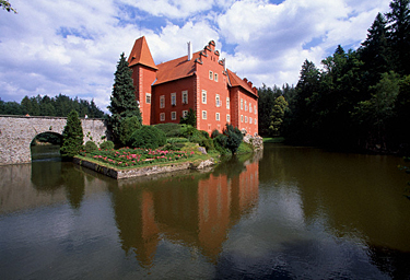 Čekija, Cervena Lhota pilis