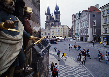 Čekija, Praha