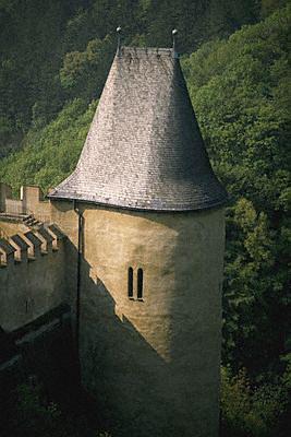Čekija, Karlstejno pilies bokštas