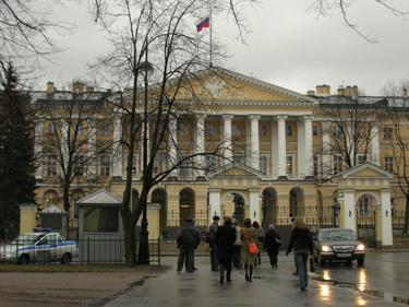 Smolnis, Sankt Peterburgo administracijos pastatas