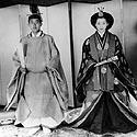 Japonijos imperatorius Akihito ir imperatorienė Michiko savo vestuvių dieną