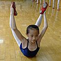 Vaikai baleto repeticijoje