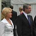Viktoras Muntianas su žmona Violeta