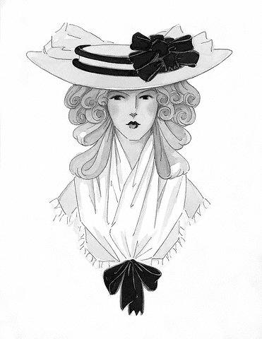 Skrybėlė. 1820 m.