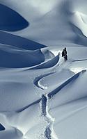 Austrija, kalnai, sniegas